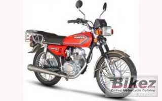 Мотоцикл Warrior 125 (2010): технические характеристики, фото, видео
