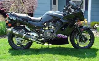 Мотоцикл GPZ 1100 1983: технические характеристики, фото, видео