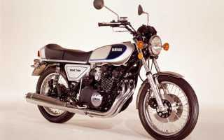 Мотоцикл GX750 Sport (1976): технические характеристики, фото, видео