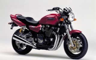 Мотоцикл XJR 1200 SP 1997: технические характеристики, фото, видео