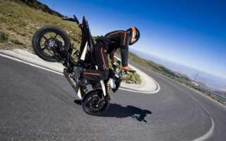 Как тормозить на мотоцикле, торможение при повороте, правила и советы