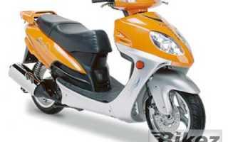 Мотоцикл New City 125 (2008): технические характеристики, фото, видео