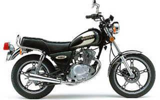 Мотоцикл GN125 (2002): технические характеристики, фото, видео