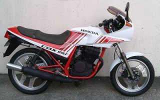 Мотоцикл CBX125F 1990: технические характеристики, фото, видео