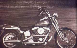 Мотоцикл FXSTS Softail Springer (1993): технические характеристики, фото, видео