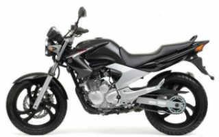 Мотоцикл FZ250 Fazer (1985): технические характеристики, фото, видео