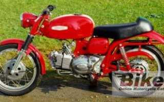 Мотоцикл Ala Verde Sport (1970): технические характеристики, фото, видео
