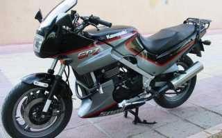 Мотоцикл GPZ 500 S 2002: технические характеристики, фото, видео