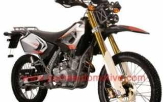 Мотоцикл Rottaler 125 Cross (2011): технические характеристики, фото, видео