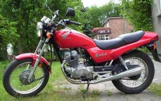 Мотоцикл CB250 RS: технические характеристики, фото, видео