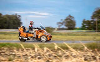 Мотоцикл Spyder Roadster RS (2011): технические характеристики, фото, видео