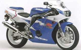 Мотоцикл GSX-R400R (1995): технические характеристики, фото, видео