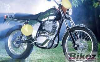 Мотоцикл B651 Scrambler (2005): технические характеристики, фото, видео