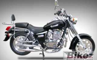 Мотоцикл XT125-16 (2010): технические характеристики, фото, видео