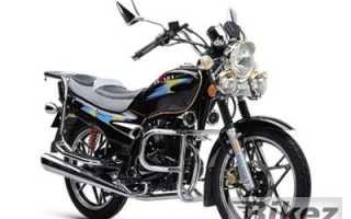 Мотоцикл BD 125-5B (2007): технические характеристики, фото, видео