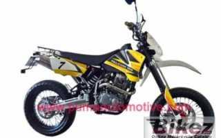 Мотоцикл Falcon CR50 Motard (2011): технические характеристики, фото, видео