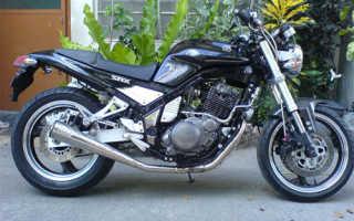 Мотоцикл SRX400 (1985): технические характеристики, фото, видео