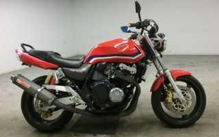 Мотоцикл CB 400 Super Four V 1999 (Japan): технические характеристики, фото, видео