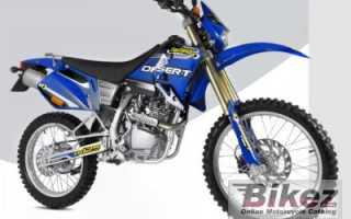 Мотоцикл Desert YR200 (2008): технические характеристики, фото, видео