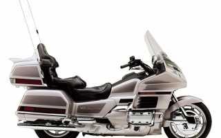 Мотоцикл GL 1500 SE Gold Wing 1998: технические характеристики, фото, видео
